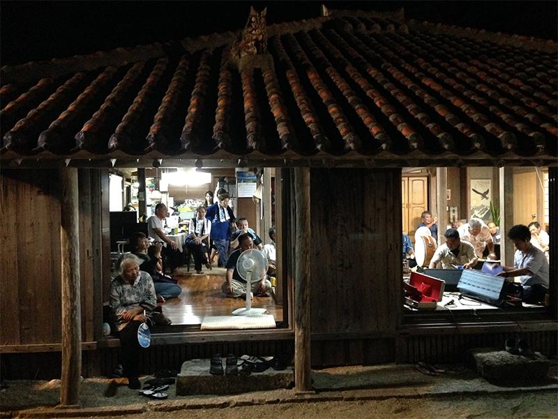 【竹富島】旧盆の行事6