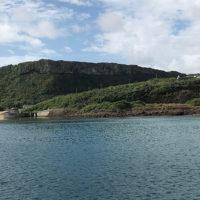 祖納港から見るティンダバナ